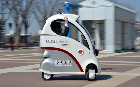Self-Driving One-Person Robot Cars Hit Sidewalks of Japan ...