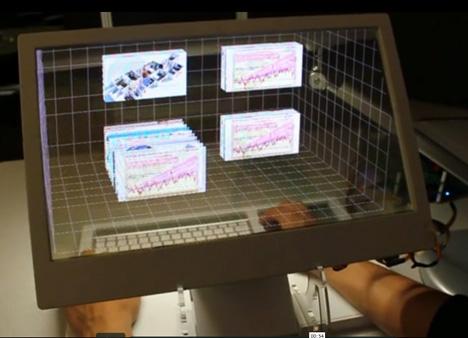 transparent computer