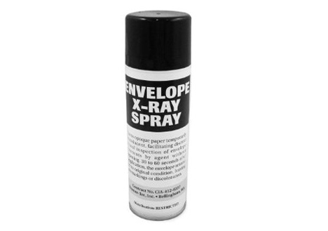x-ray envelope spray