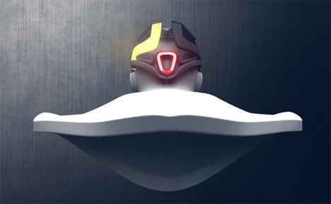 dora helmet brake light