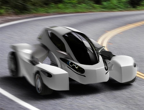 extended mono electric vehicle