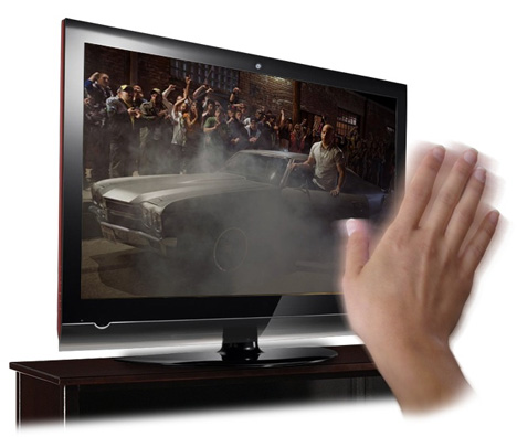 television remote control by hand gesture Onecue allows users to control a variety of home devices with simple hand gestures view gallery - 8 images one problem with the number of living room gadgets available now is the number of remote.