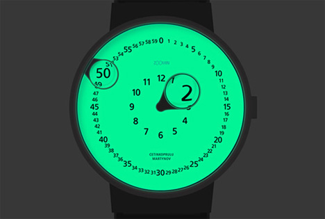 glow in the dark zoomin watch