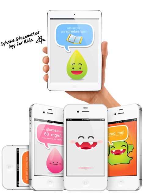 glucometer app for kids