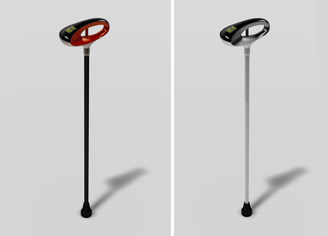 gps walking stick