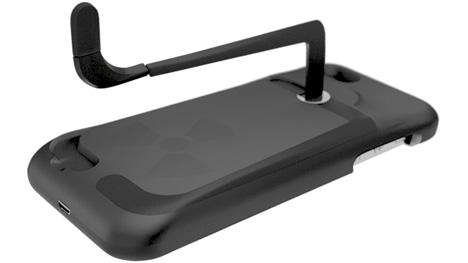 gridcase reactor hand-crank iphone case