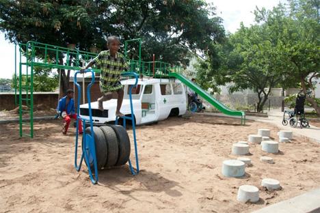 hospital playground malawi
