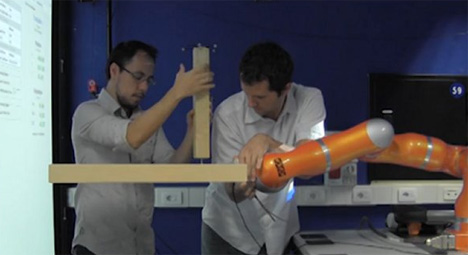 ikea furniture building robot