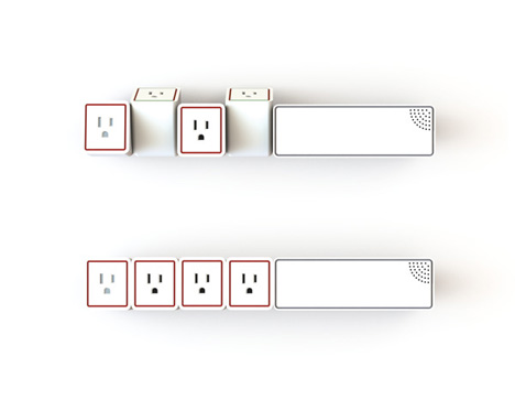 modular power strip concept