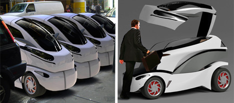 mono tiny city electric vehicle
