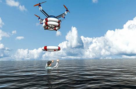 ocean rescue robots