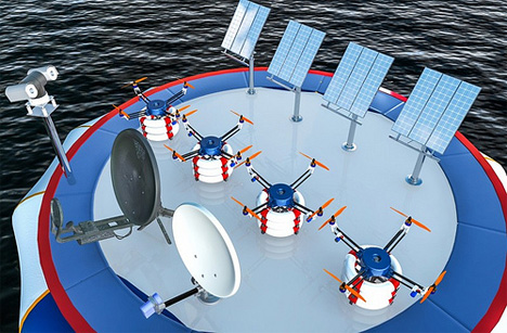pars life preserver dropping robot