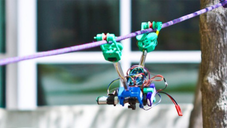 power line safety robot