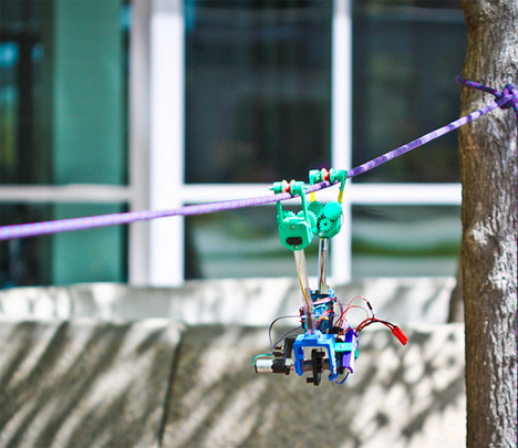 skysweeper robot