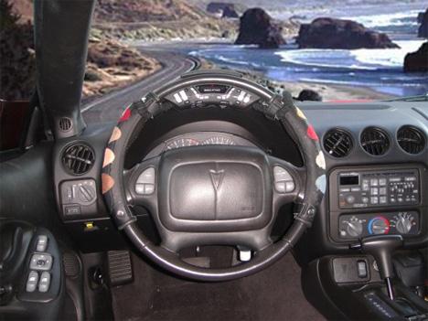 steering wheel drum machine