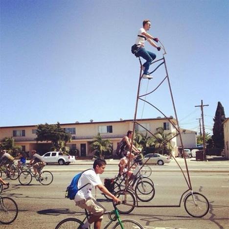 stoopid tall bike