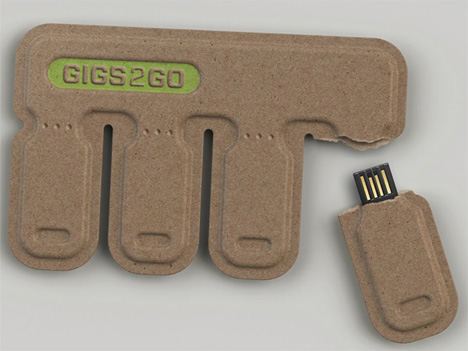 tear off and share usb flash drives