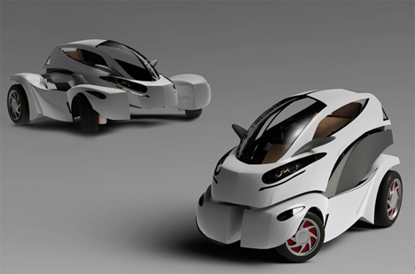 transforming electric vehicle
