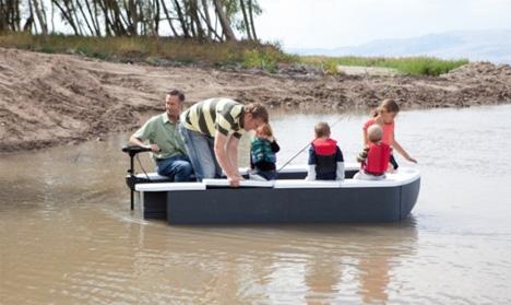 transporter modular boat