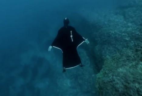 underwater flight suit