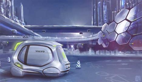 yuhan zhang beehive car concept