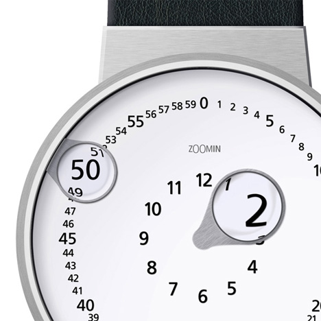zoomin magnifying glass watch