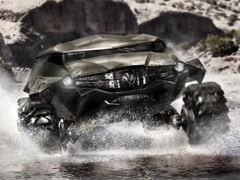 2035 zaire concept vehicle design