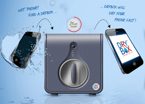 drybox mobile phone moisture repair