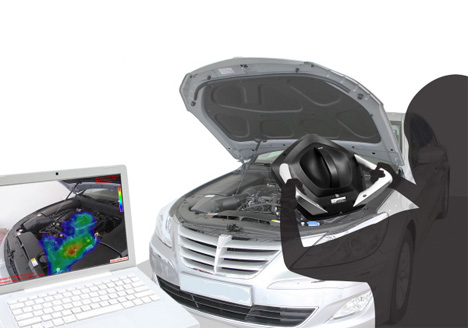 hand-held sound camera