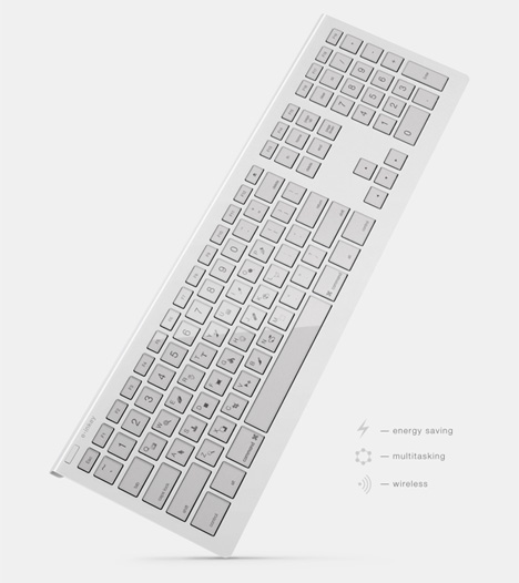 keyboard with changeable keys