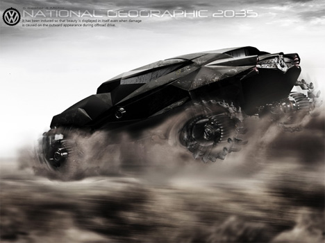 national geographic concept vehicle