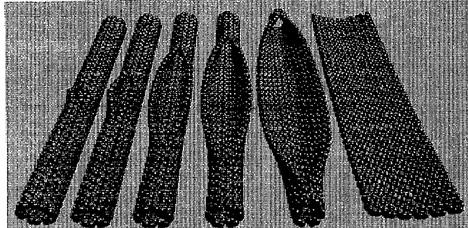 strands of aerogels