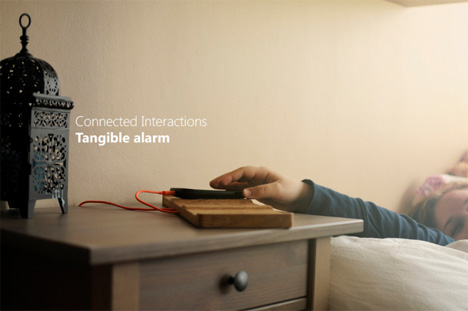 tangible alarm
