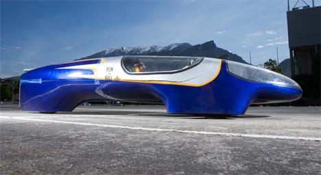 BYU super-efficient car
