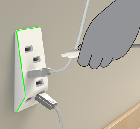 bolt usb outlet