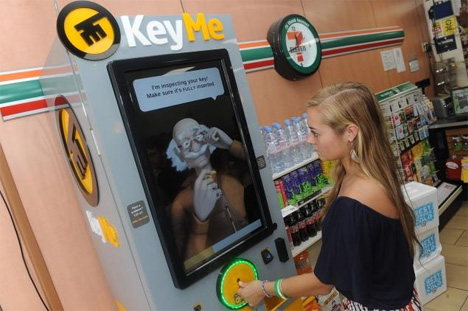 keyme digital key reproduction kiosk