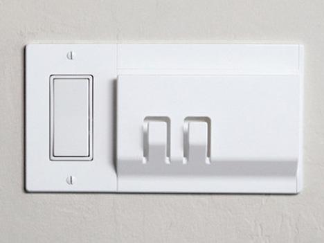 light switch organization center