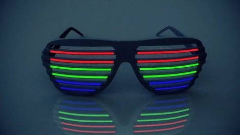 Led Lit Flashing Shades Will Make You The Life Of The