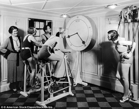 vintage exercise bikes