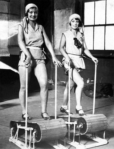 wooden treadmills
