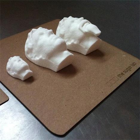 3d printed sugar heads