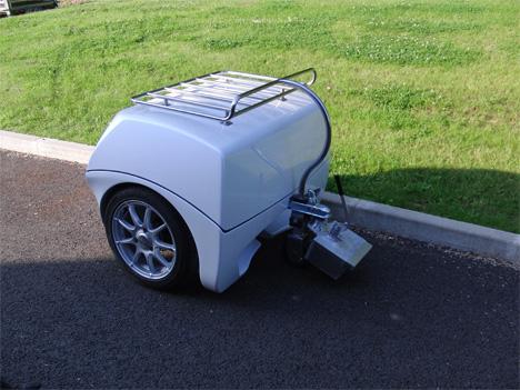 EV trailer generator