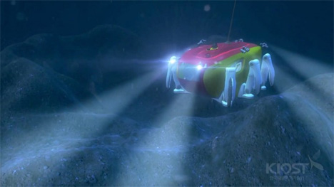 crabster underwater exploration robot