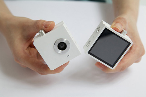 duo two-piece camera