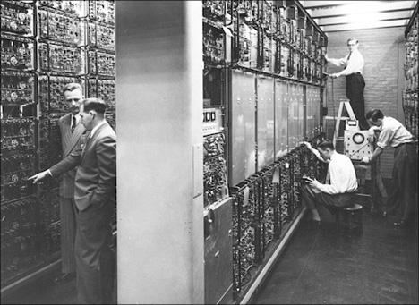 history's huge computers