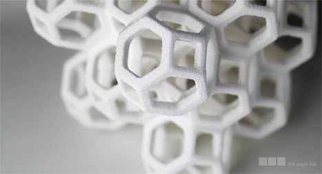 intricate 3d printed sugar sculptures