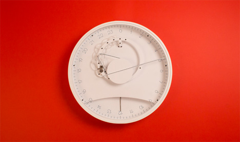 slow 24-hour clock