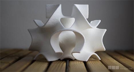 sugar sculptures 3d printed