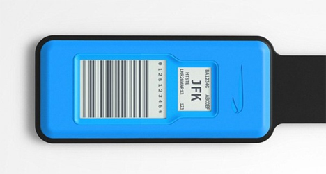 BA electronic luggage tags