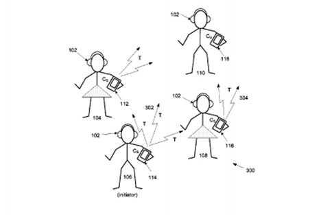 apple patent silent disco idea